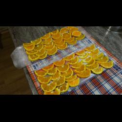 Рецепт: Сушеные мандарины