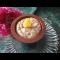 Фото Пудинг творожный с изюмом и орехами