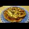 Фото Сладкая пицца с орехами