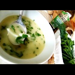 Рецепт: Луковый суп-пюре