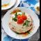 Фото Слоеный салат с курицей и помидором
