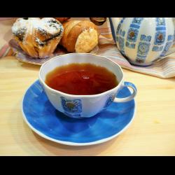 Рецепт: Чай с земляникой и мятой
