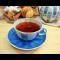 Фото Чай с земляникой и мятой