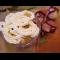 Фото Фруктовый салат со взбитыми сливками