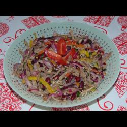 Рецепт: Салат ''Тбилиси''