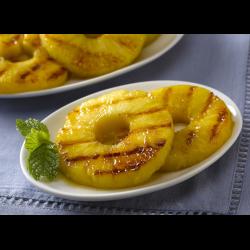 Рецепт: Жареный ананас