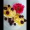 Фото Грейпфрут с сыром и вишнями