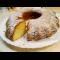 Фото Бисквитный пирог с лимоном
