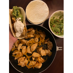 Рецепт: Фахита с гуакамоле