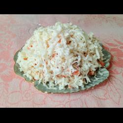 Рецепт: Сытный закусочный салат
