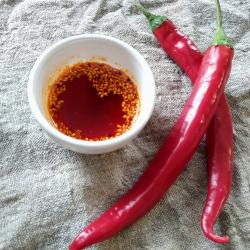 Рецепт: Чили масло Хун Ю