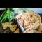 Фото Крекер с сыром и кунжутом