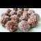 Фото Шоколадные конфеты с кокосовой стружкой и грецкими орехами