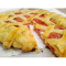 Фото Сырный пирог с помидорами