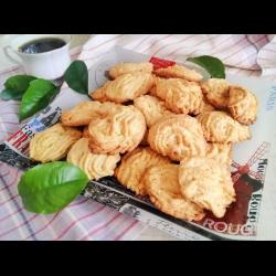 Рецепт: Печенье с апельсиновыми корочками