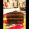 Фото Шоколадный муссовый торт с арахисом и карамелью