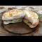 Фото Бутерброд с ветчиной и яйцом