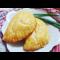 Фото Пирожки с курицей и картофелем из быстрого слоеного теста