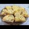 Фото Бутерброды с яйцом, огурцом, сыром и луком