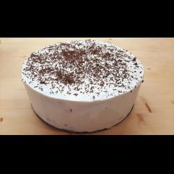 Рецепт: Торт без выпечки из шоколадного печенья