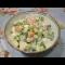 Фото Салат с креветками и сыром