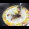 Фото Сырный суп с гренками
