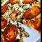 Фото Постная пицца с соевыми бобами