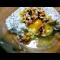 Фото Сладкая яичница с взбитым белком