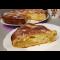 Фото Рассыпчатый пирог на кефире с яблоками