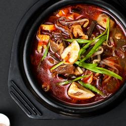Рецепт: Корейский суп Юккедян