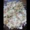 Фото Салат с китайской капустой, огурцом, ветчиной, сыром и яйцом