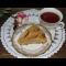 Фото Постный пирог с яблоками
