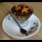 Фото Десерт из шоколадного пудинга с бисквитом