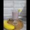 Фото Коктейль из кефира с бананом и вареньем