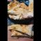 Фото Куриная печень в треугольниках