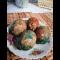 Фото Пасхальные мраморные яйца