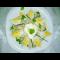 Фото Салат из авокадо, селедки и яиц