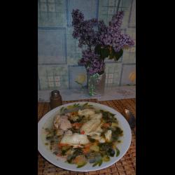 Рецепт: Суп клецки с сыром