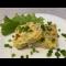 Фото Запеченный омлет с овощами и курицей