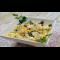 Фото Салат из сельди с яйцом, черносливом и кукурузой