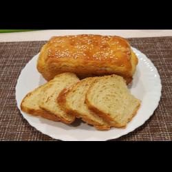Рецепт: Белый молочный хлеб на заварном тесте