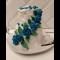 """Фото Торт """"Синие розы"""""""