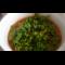 Фото Зеленый борщ со шпинатом