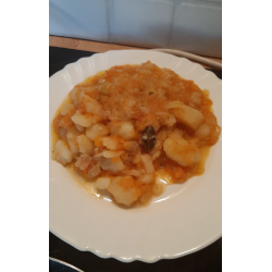 Рецепт: Тушеные овощи без мяса