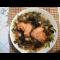 Фото Суп рассольник с чечевицей и маслинами