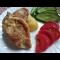Фото Запеченный картофель со свиным карбонатом