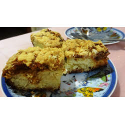 Рецепт: Насыпной пирог на маргарине