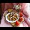 Фото Молодой картофель жареный в мундире с копченостью
