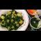Фото Картофель с зеленым соусом