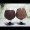 Фото Белковый-заварной темный шоколадный муссавый десерт